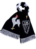 Cachecol Marka Atlético Galo Preto