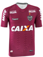 Camisa 2 Goleiro Atlético MG 2018 Topper