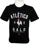 Camisa Passeio Atlético MG Dryworld Preta