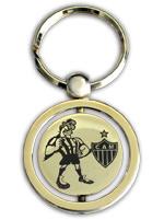Chaveiro Banhado a Ouro - Atlético Mineiro Mascote