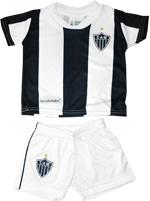 Conjunto Bebê Helanca Torcida Baby Atlético MG