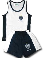 Conjunto Malha Verão Torcida Baby Atlético Mineiro
