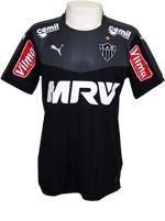 Camisa Goleiro Atl�tico Mineiro 2015 Puma Preta