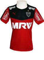 Camisa Goleiro Atl�tico Mineiro 2015 Puma Vermelha