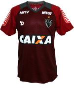 Camisa Goleiro Atlético MG 2016 Dryworld Vermelha
