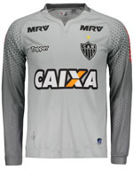 Camisa Goleiro 1 Atlético MG 2017 Topper Cinza