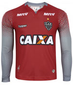 Camisa Goleiro 2 Atlético MG 2017 Topper Vermelha