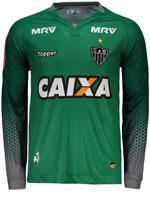 Camisa Goleiro 3 Atlético MG 2017 Topper Verde