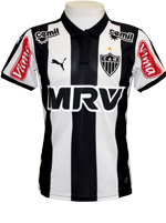 Camisa Juvenil Atl�tico Mineiro 2015 Puma Listrada