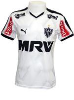 Camisa Juvenil Atl�tico MG 2015 Puma Branca