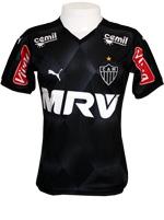 Camisa Jogo 3 Atl�tico MG 2015 Puma Preta