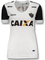 Camisa Feminina 2 Atlético MG 2017 Topper Branca