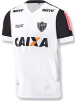 Camisa Jogo 2 Atlético MG 2017 Topper C/N Branca