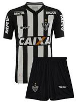 Kit Infantil Jogo 1 Atlético MG 2018 Topper S/N