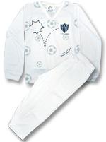 Pijama Longo para bebê Torcida Baby Atlético MG