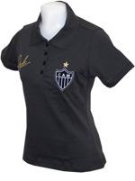 Camisa Polo Feminina Atlético/MG Victor Grafite