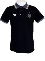 Camisa Polo Staff Atl�tico MG 2016 Dryworld Preta