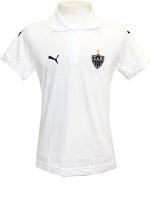 Camisa Polo Viagem Atl�tico MG Puma Branca