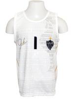 Camiseta Regata Infantil Atl�tico/MG Victor Branca