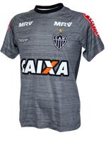 Camisa Treino Atlético MG 2017 Topper Chumbo