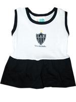 Vestido Bebê Torcida Baby Atlético MG