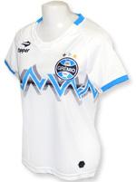 Camisa Feminina Grêmio 2014 Topper Branca