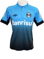 Camisa de Jogo 3 Grêmio 2015 Umbro Azul