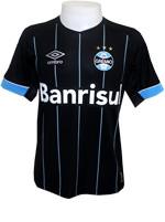 Camisa de Jogo 4 Grêmio 2015 Umbro Preta