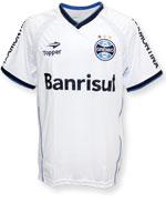 Camisa Treino Grêmio 2014 Topper Branca