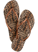 Sandália Havaianas Slim Animals Rose