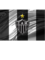 Imã Atlético Mineiro Bandeira Vertical