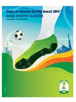 Imã Copa do Mundo Pôster Porto Alegre