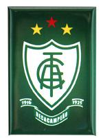 Imã América Mineiro Escudo Vertical