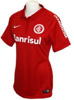 Camisa Feminina Internacional Nike 2015 Vermelha