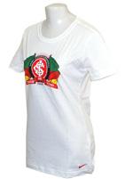 Camisa Passeio Feminina Internacional Nike Branca