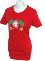 Camisa Passeio Feminina Inter Nike Vermelha
