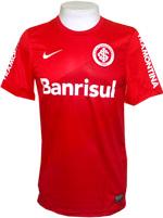 Camisa Jogo 1 Internacional Nike 2014 Vermelha
