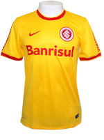Camisa Jogo 3 Internacional Nike 2014 Amarela