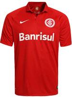 Camisa Jogo 1 Internacional Nike 2015 Vermelha