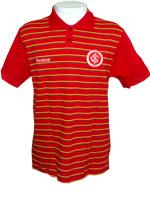 Camisa Polo Listrada Brasil Internacional Reebok