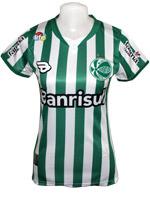 Camisa 1 Juventude 19TREZE Verde/Branca Feminina