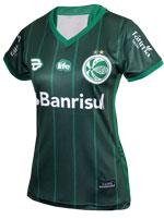 Camisa 2 Feminina Juventude 2017 19TREZE Verde