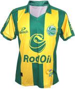 Camisa 3 Juventude 2014 Dresch Sport Verde/Amarela