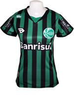Camisa 3 Juventude 19TREZE Verde/Preta Feminina