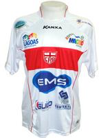 Camisa de Jogo CRB 2013 Kanxa Branca