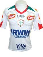 Camisa de Jogo Portuguesa 2012 Lupo Branca