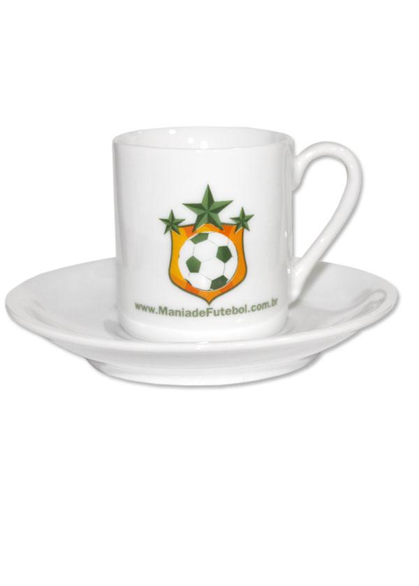 Conjunto de Café Mania de Futebol