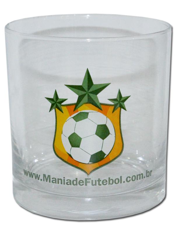 Copo para Whisky Mania de Futebol