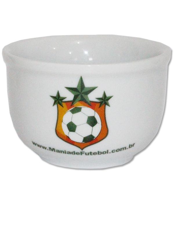 Cumbuca Porcelana Mania de Futebol