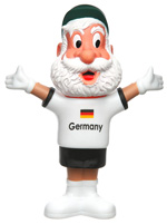 Boneco Mascote Alemanha